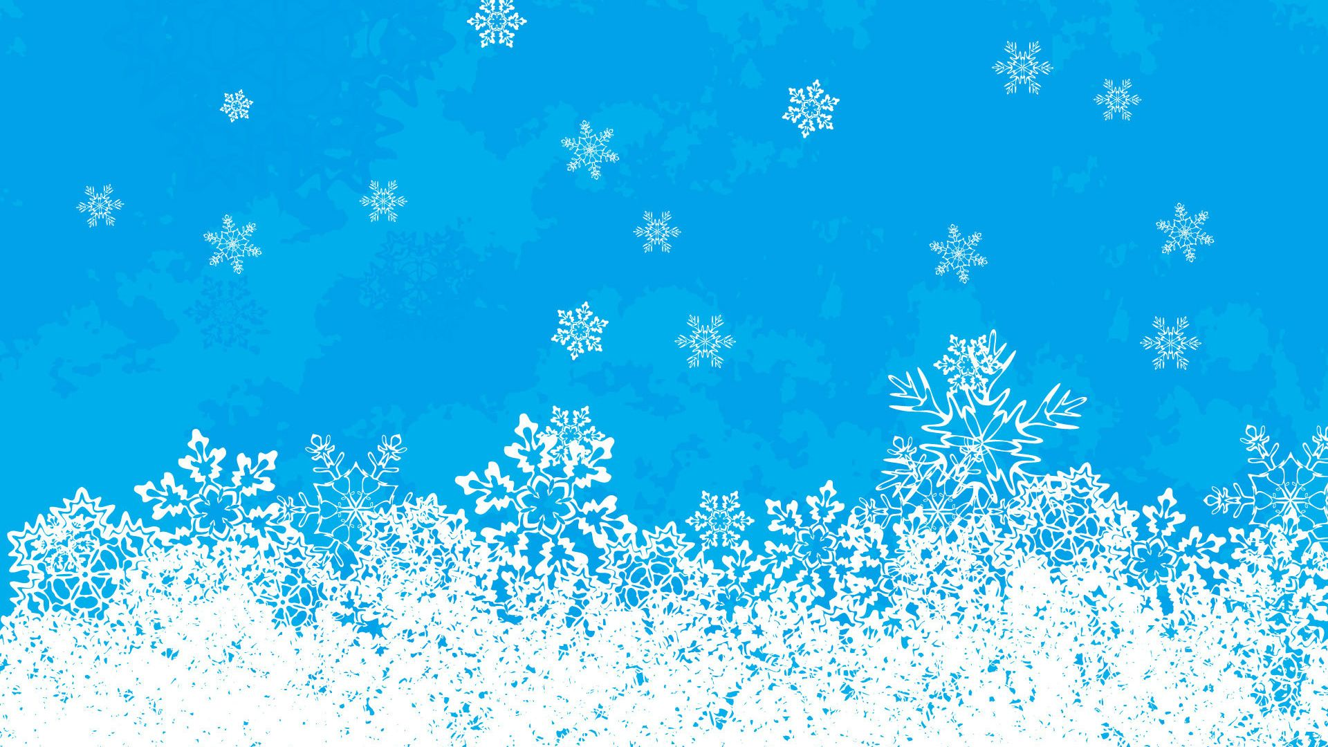 New Year With Snowflakes wallpaper download