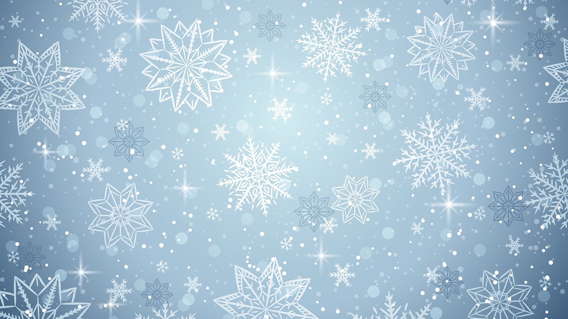 New Year With Snowflakes vertical wallpaper hd