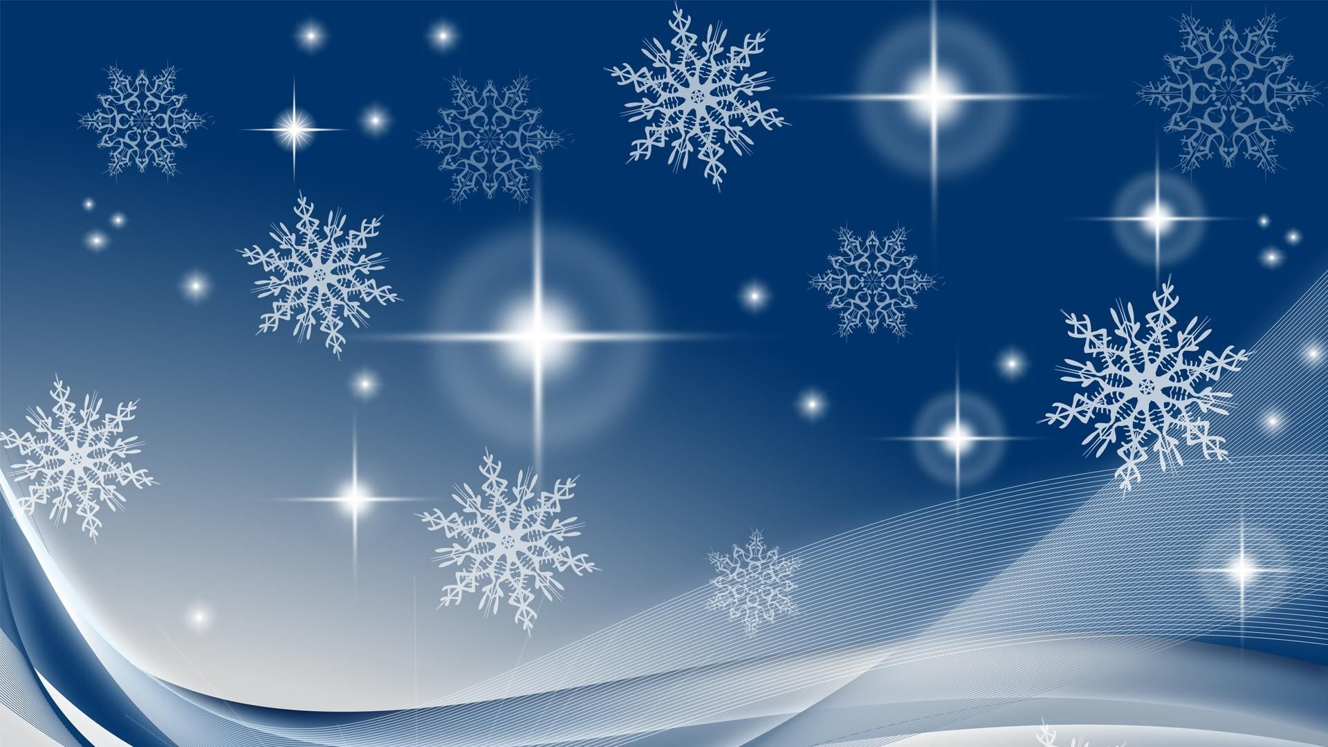 New Year With Snowflakes full hd wallpaper for laptop