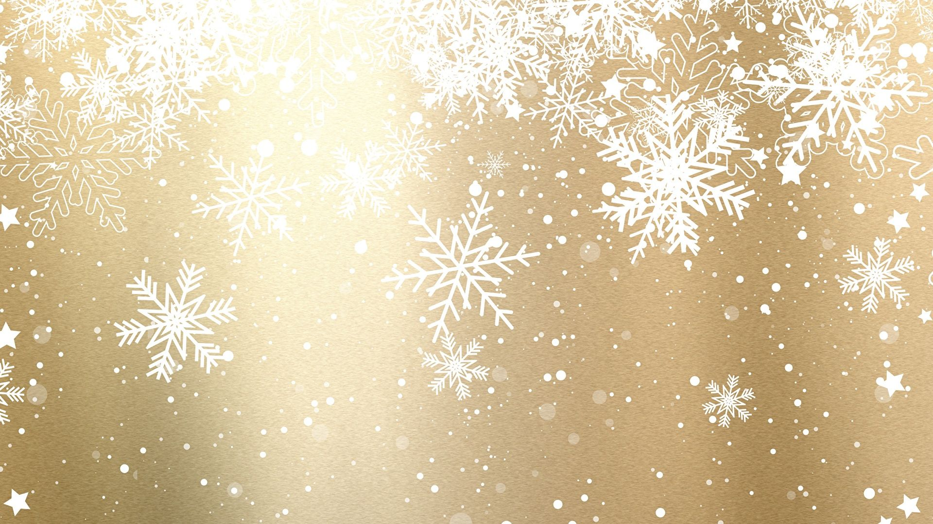 New Year With Snowflakes Background Wallpaper