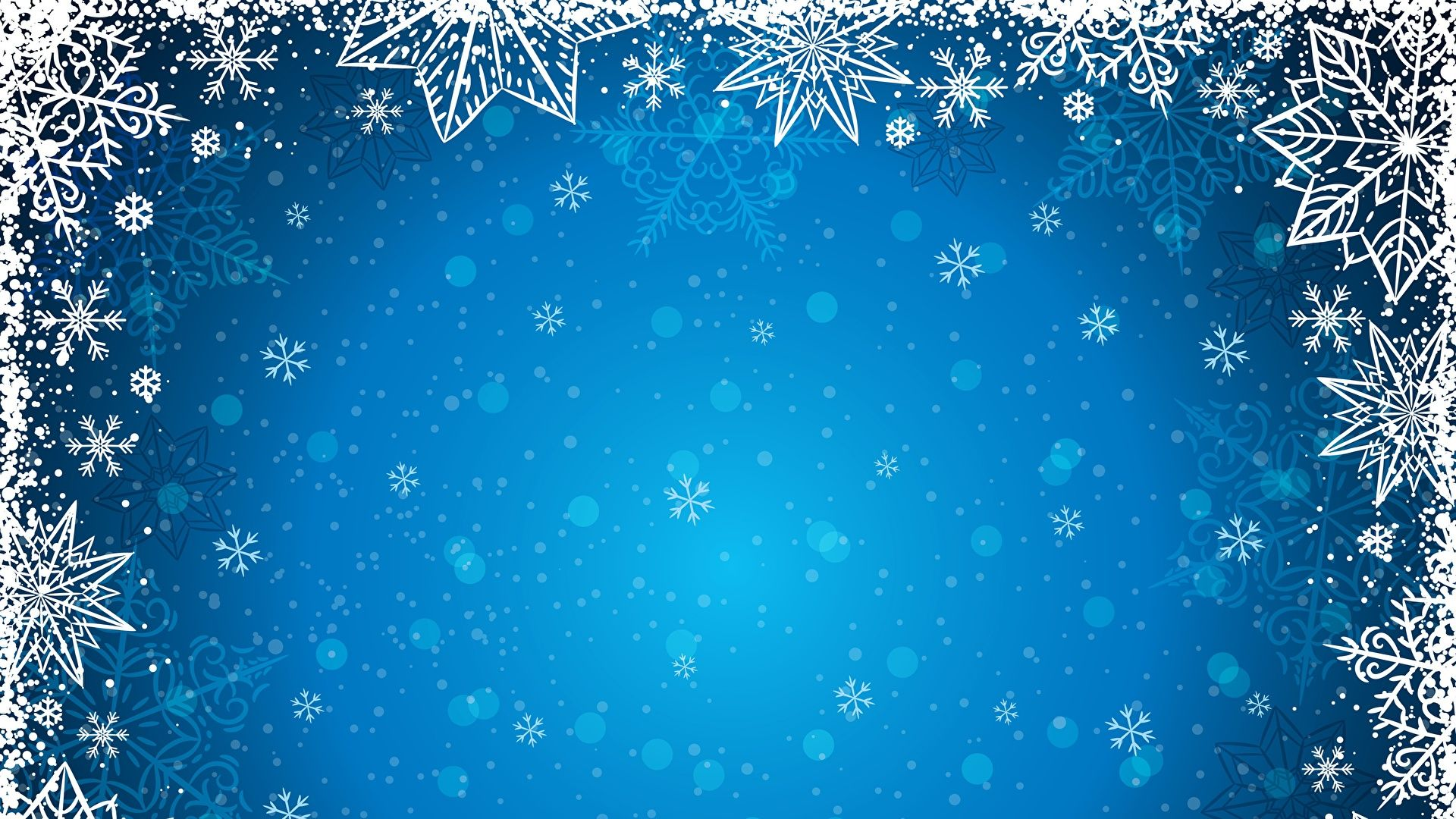 New Year With Snowflakes download nice wallpaper