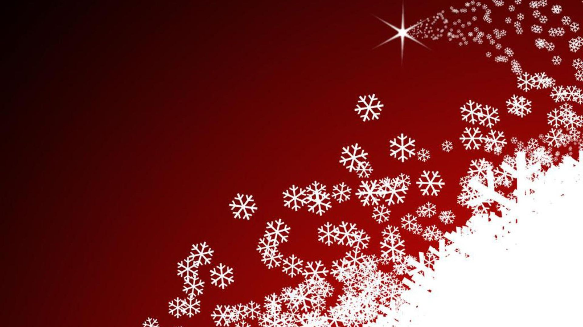 New Year With Snowflakes Nice Wallpaper