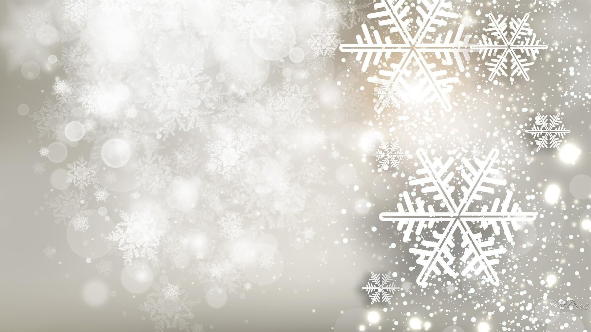 New Year With Snowflakes hd wallpaper 1080