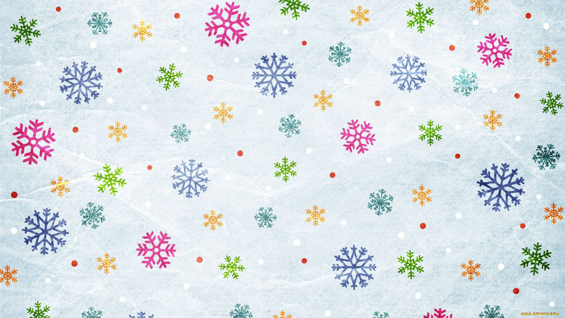 New Year With Snowflakes best Wallpaper