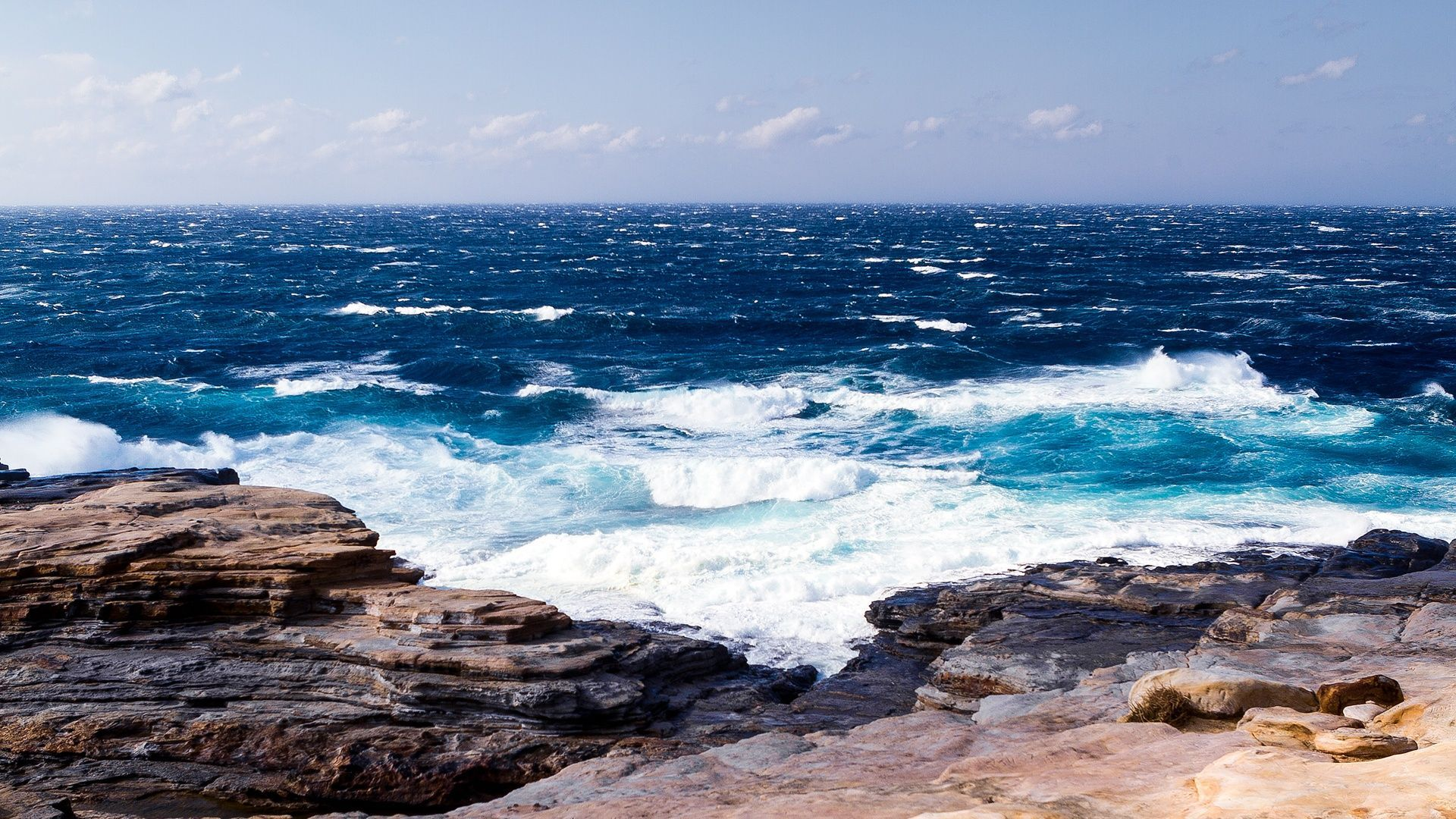 Ocean Themed Free Wallpaper and Background