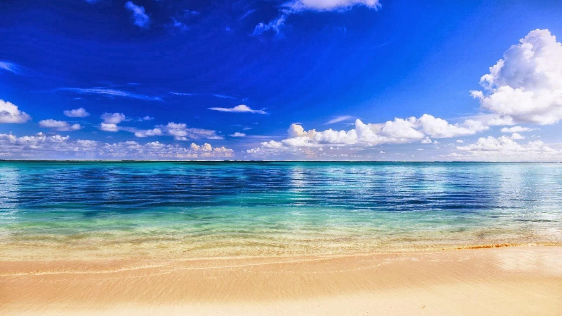 Ocean Themed HD Desktop Wallpaper