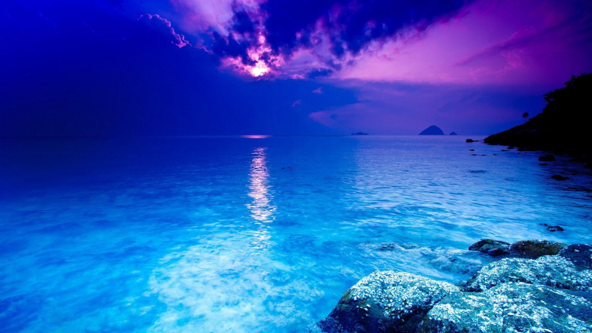 Ocean Themed hd wallpaper 1080p for pc