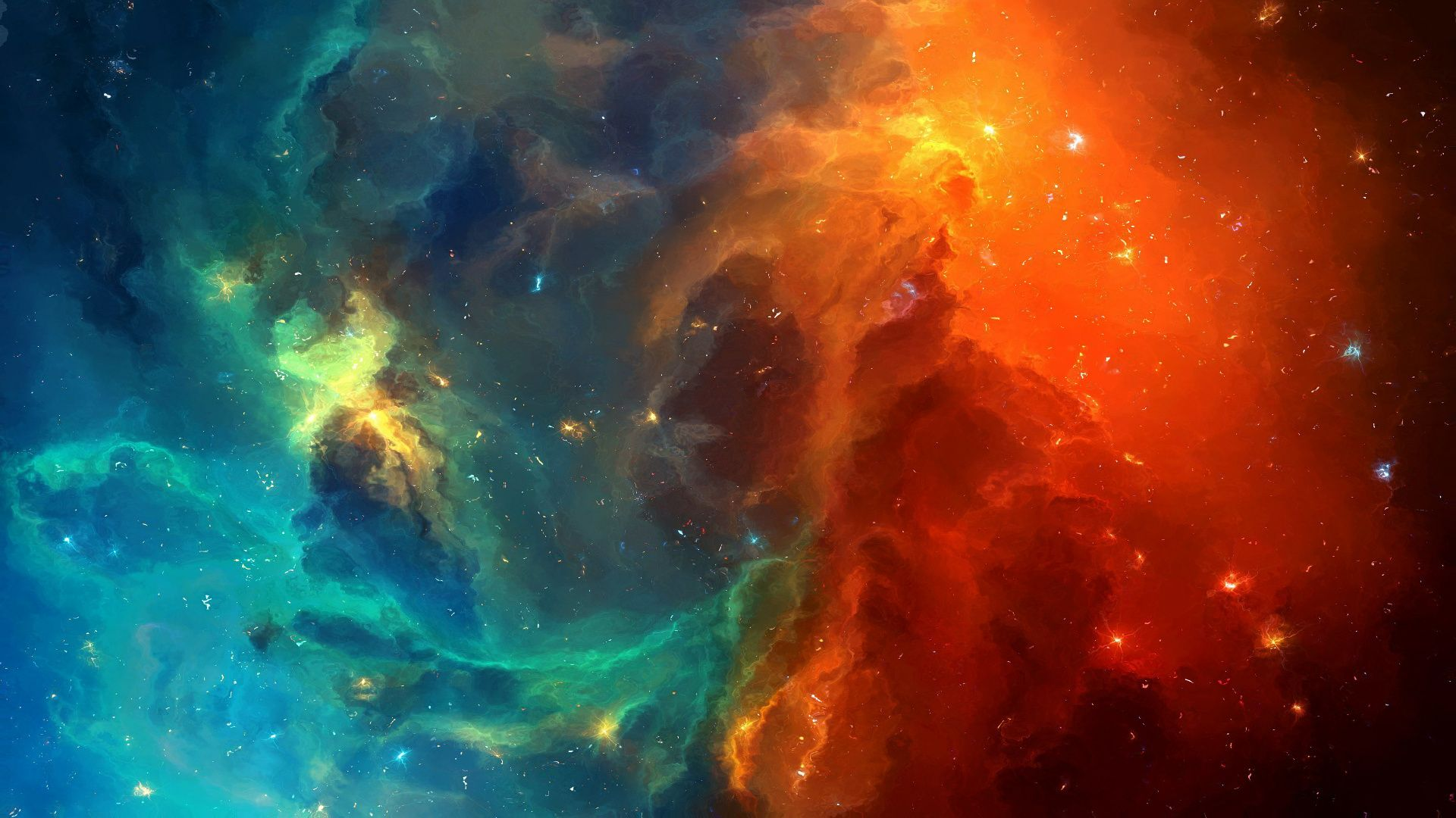 Outer Space laptop wallpaper