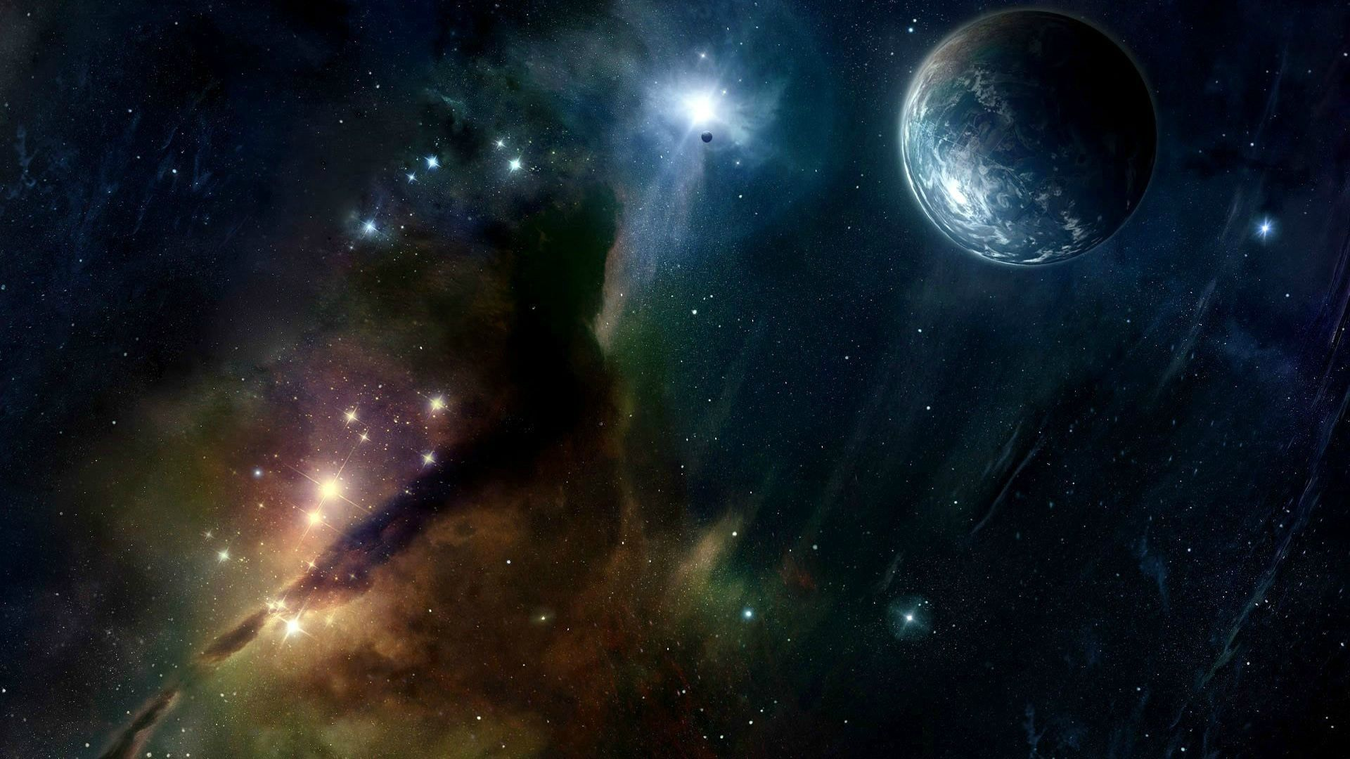 Outer Space 1080p Wallpaper