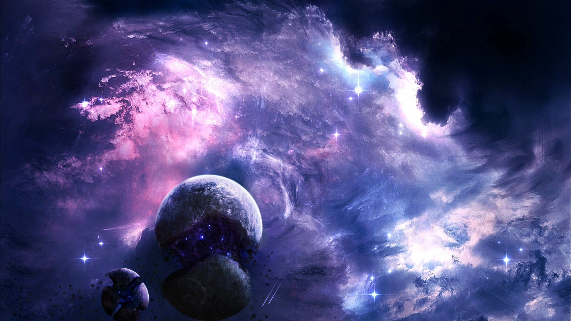 Outer Space screen wallpaper