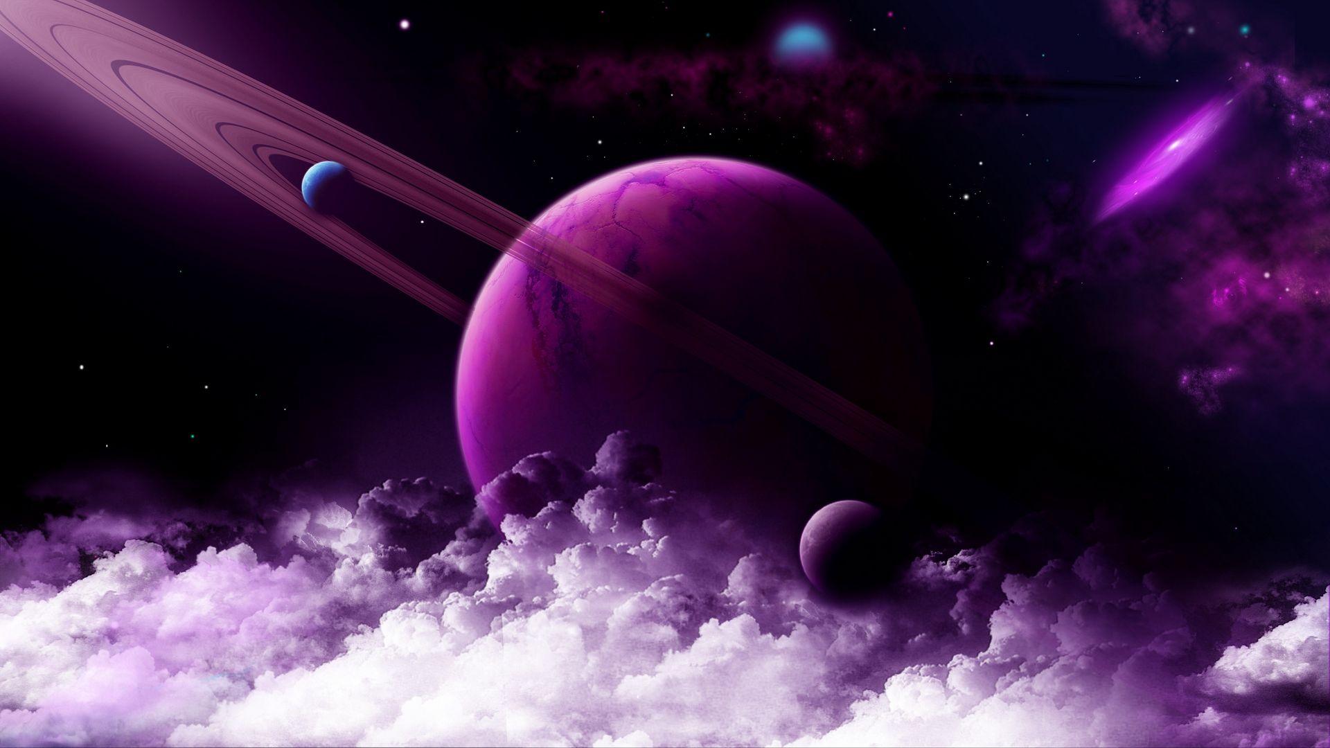 Outer Space Free Desktop Wallpaper