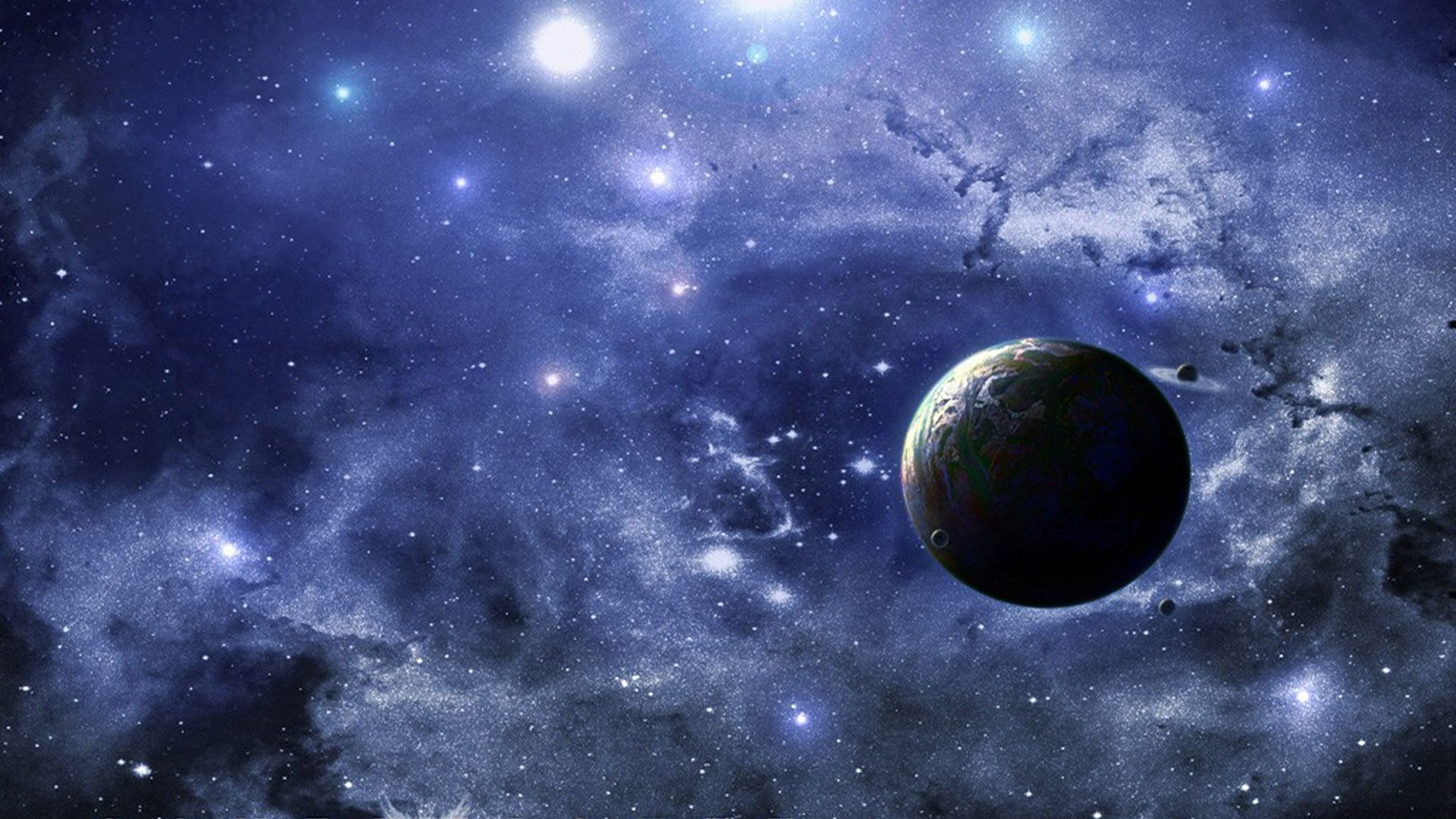 Outer Space full screen hd wallpaper