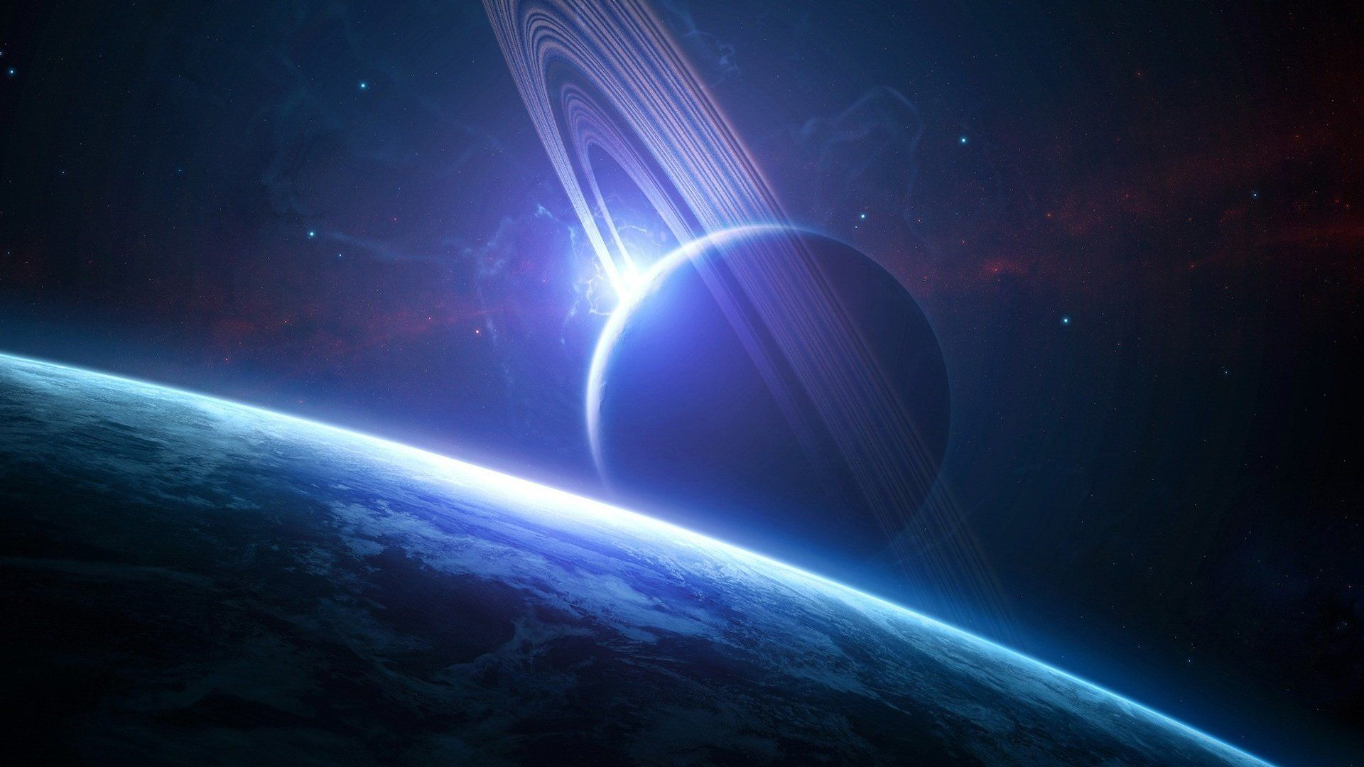 Planet wallpaper theme