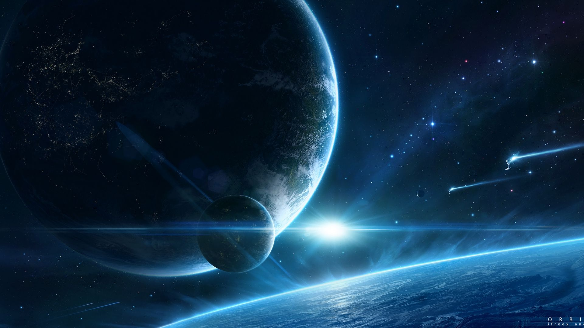 Planet Full HD Wallpaper