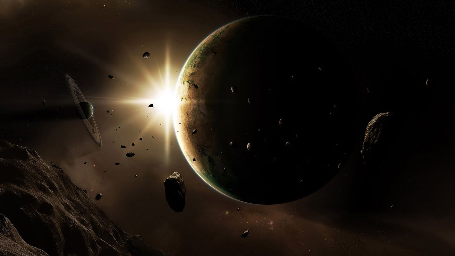 Planet HD 1080 wallpaper