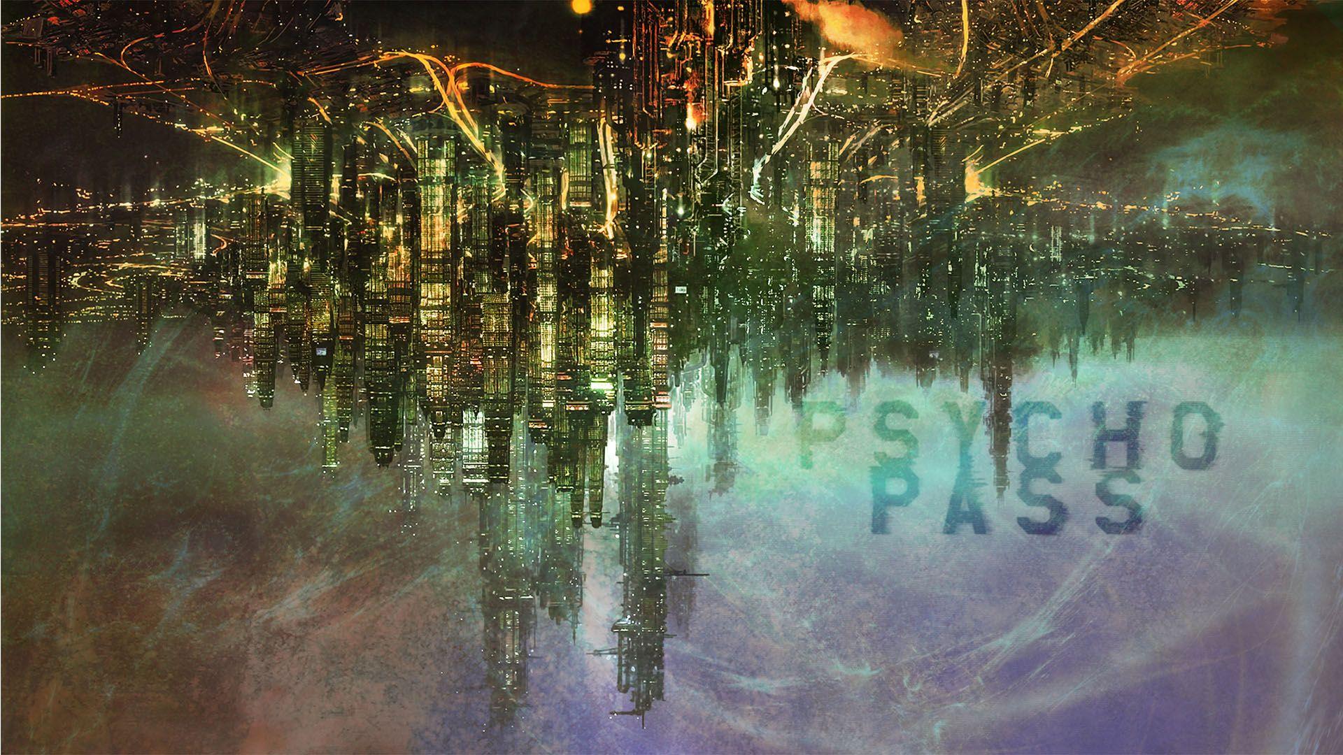 Psycho Pass Background Wallpaper HD