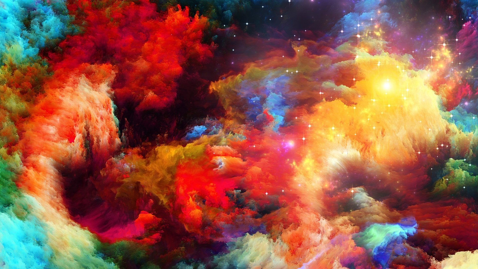 Rainbow wallpaper and themes