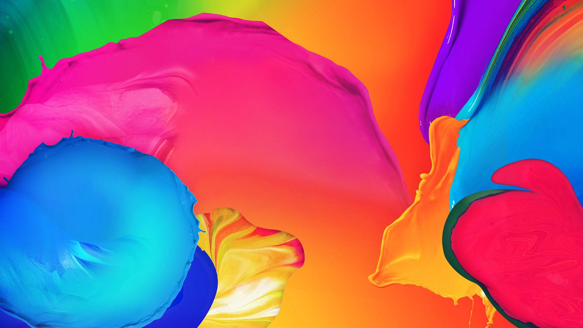 Rainbow full hd 1080p wallpaper
