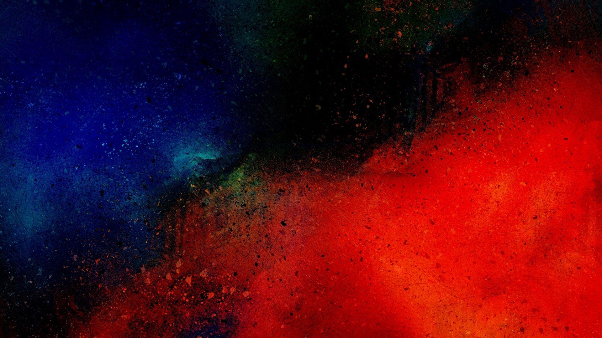 Red And Blue Desktop Wallpaper