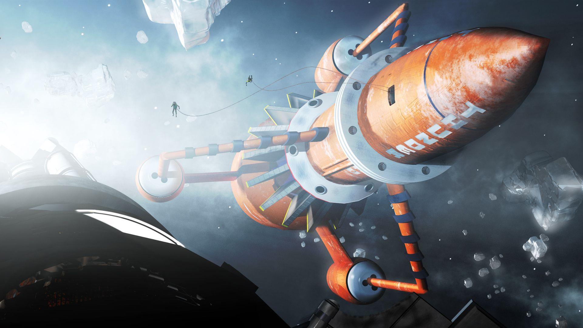 Rocket HD 1080 wallpaper