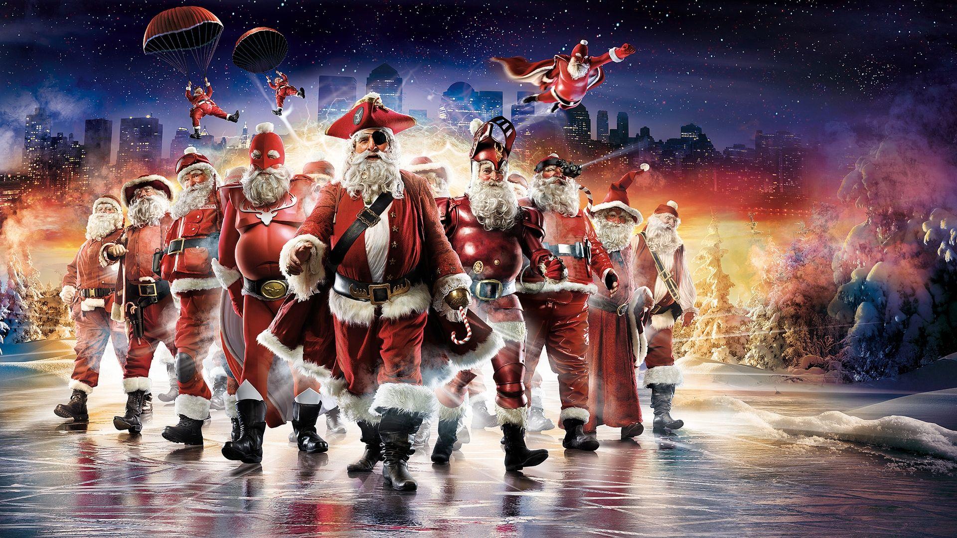 Santa Claus Nice Wallpaper
