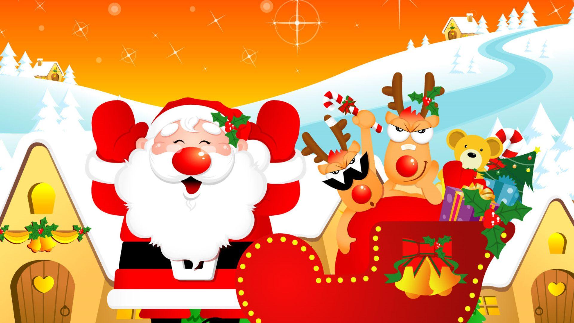 Santa Claus good wallpaper
