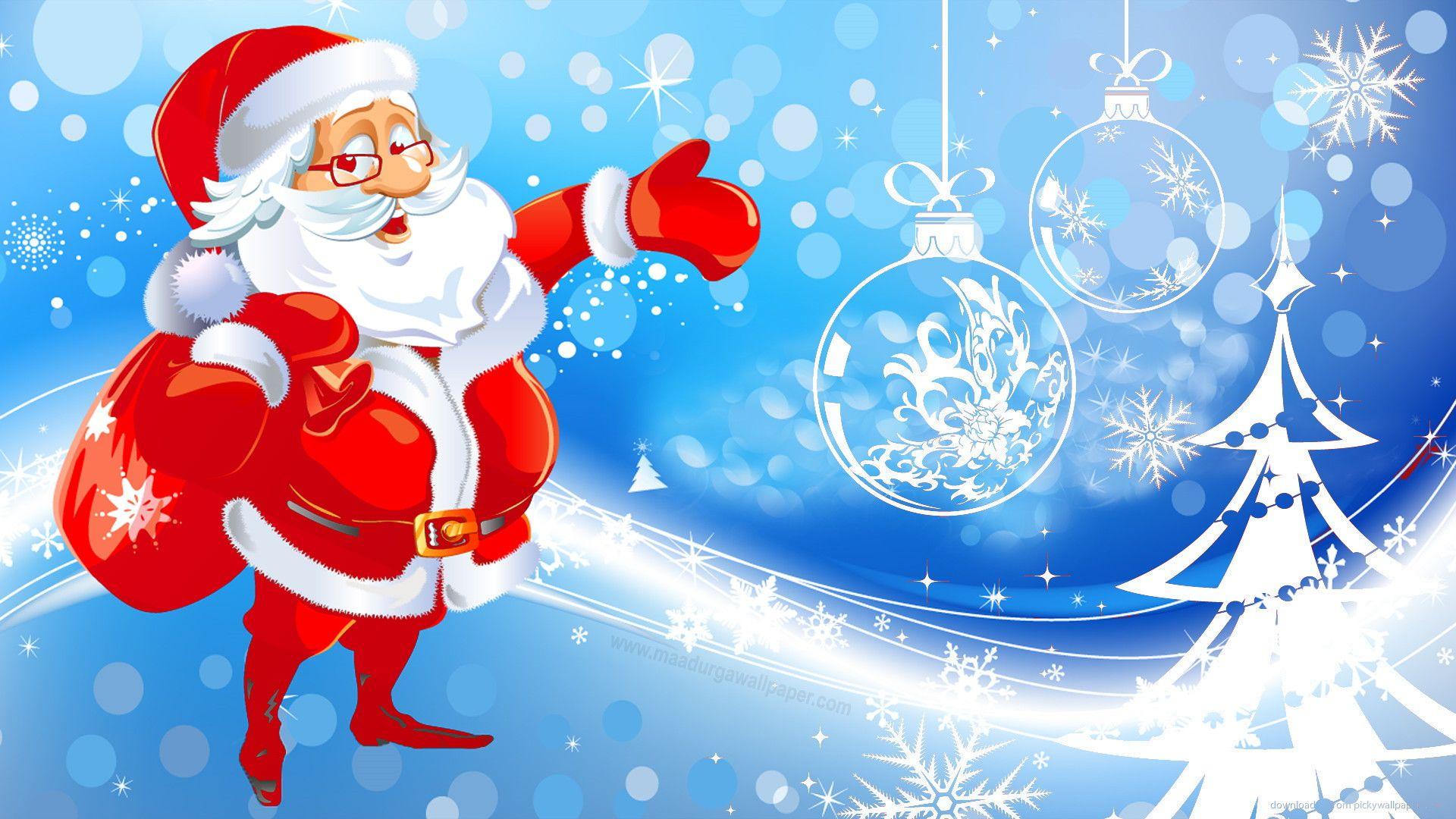 Santa Claus wallpaper photo full hd