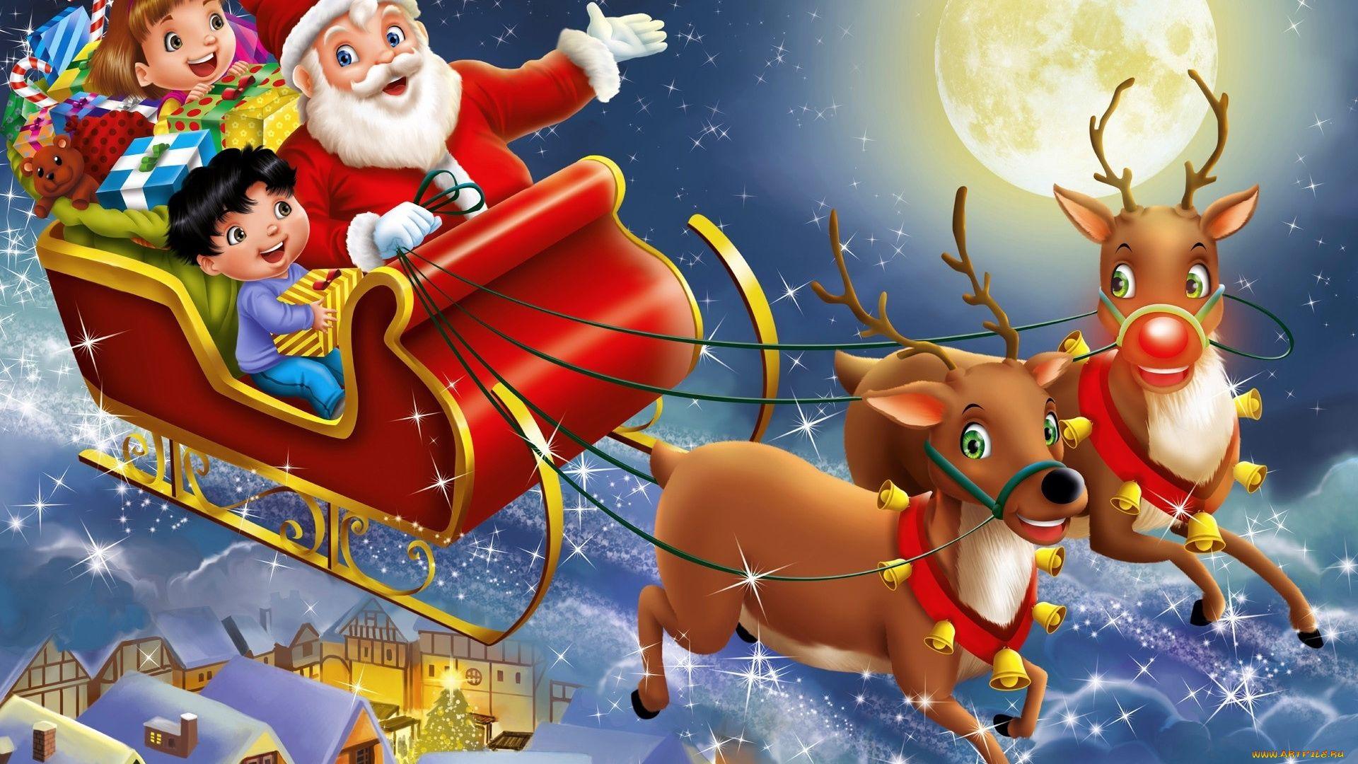 Santa Claus PC Wallpaper HD