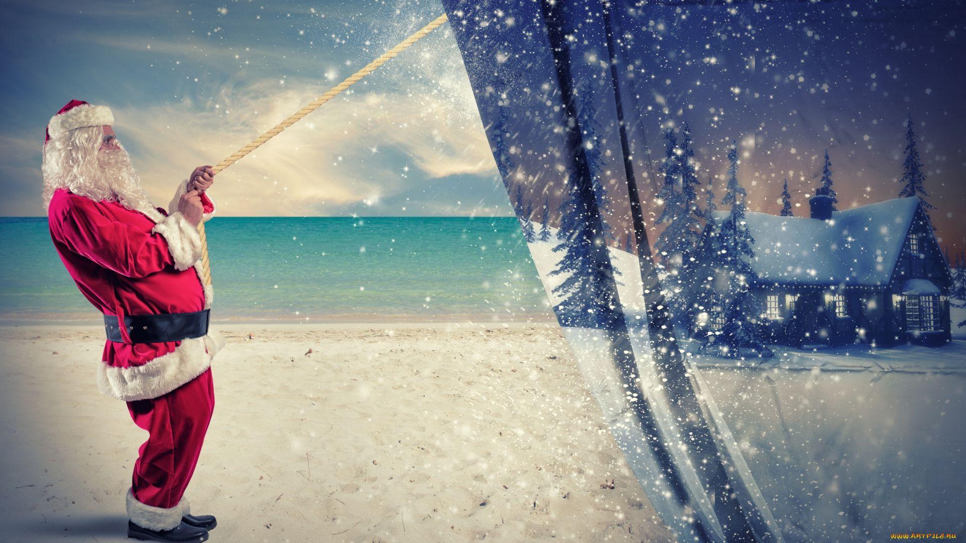Santa Claus Desktop Wallpaper