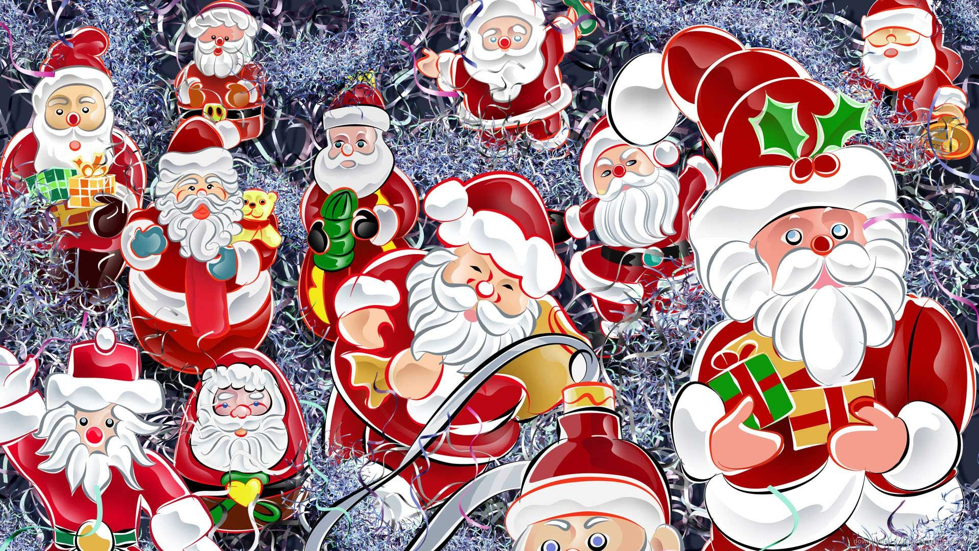 Santa Claus full screen hd wallpaper
