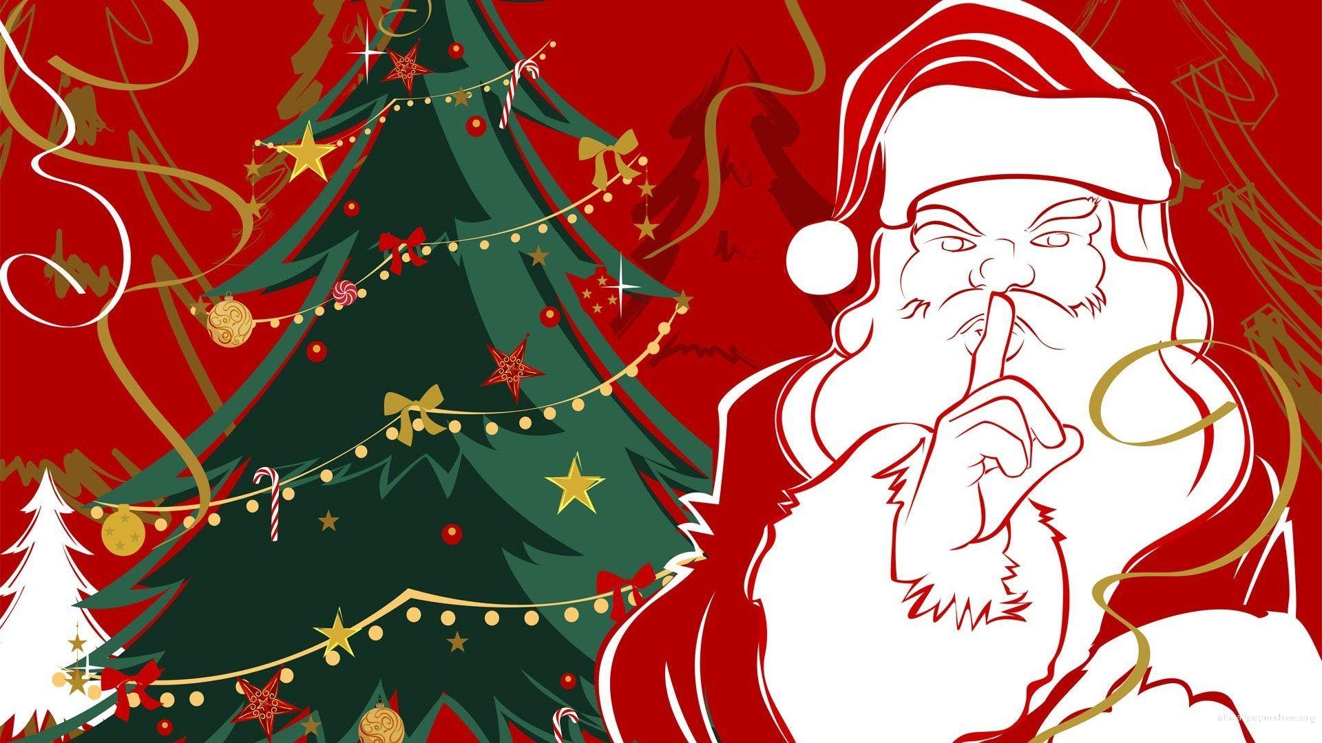 Santa Claus HD 1080 wallpaper