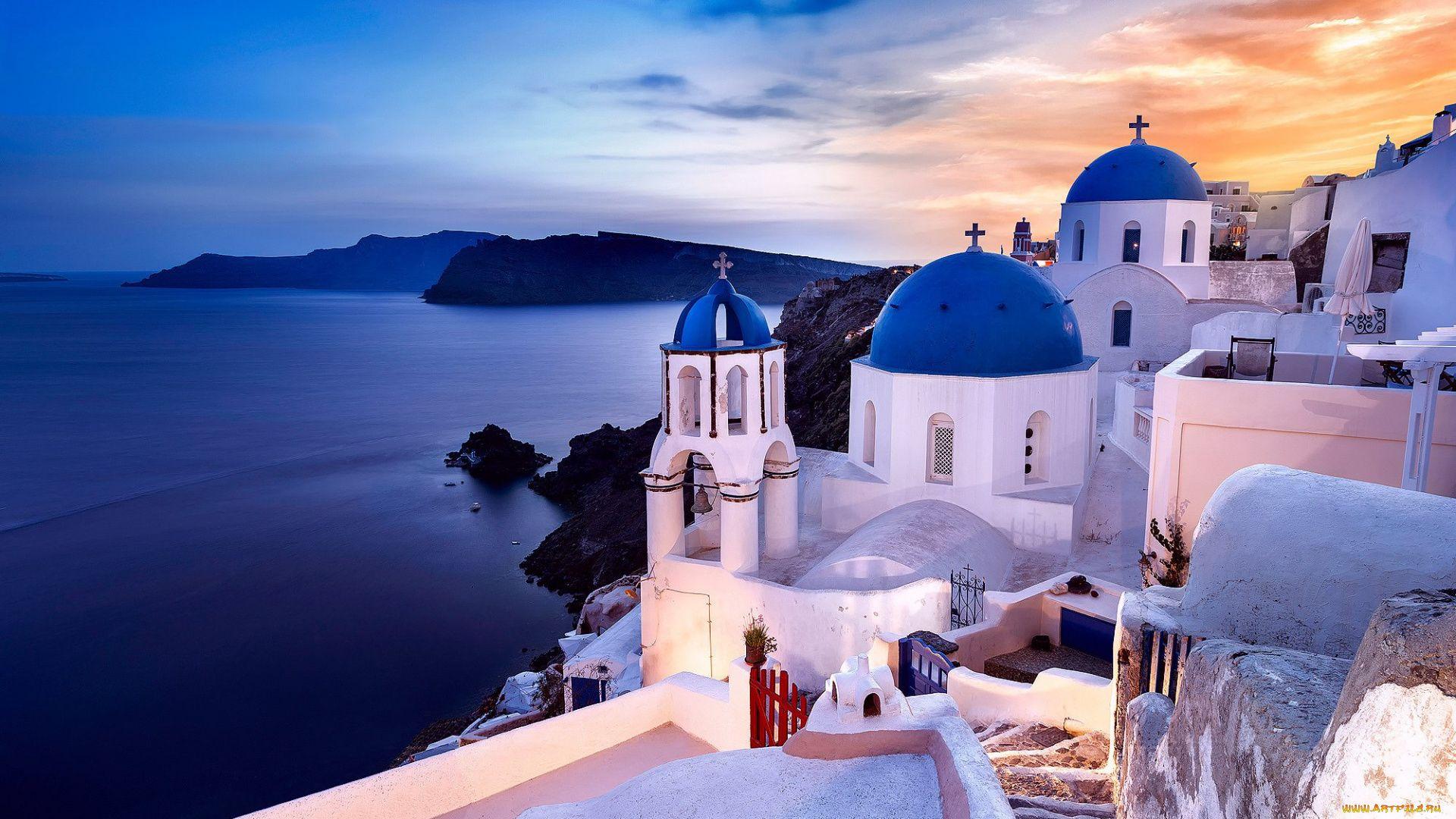 Santorini download wallpaper image
