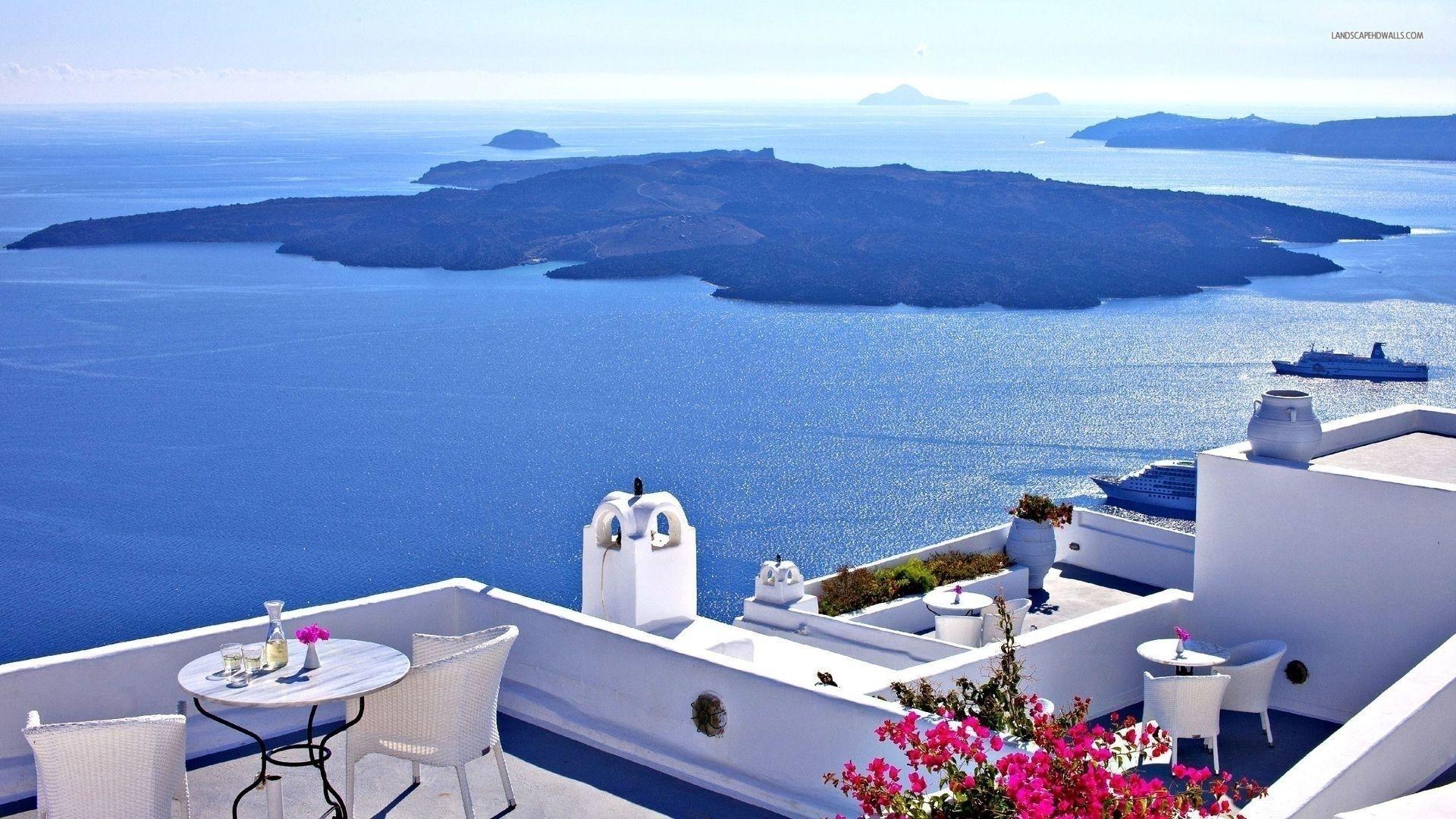 Santorini wallpaper picture hd