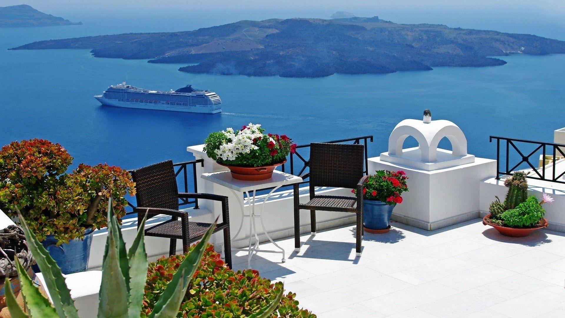 Santorini Download Wallpaper