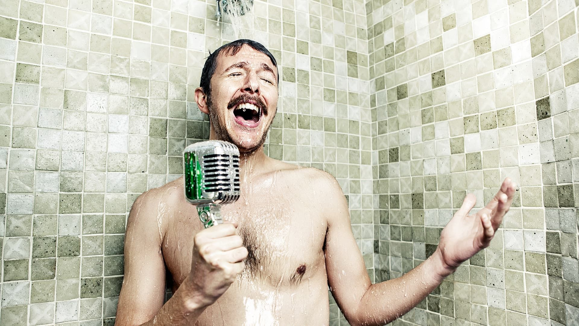 Shower Background Wallpaper