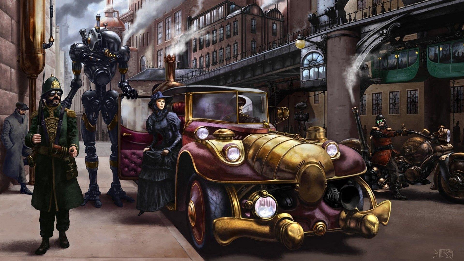 Steampunk Desktop Wallpaper