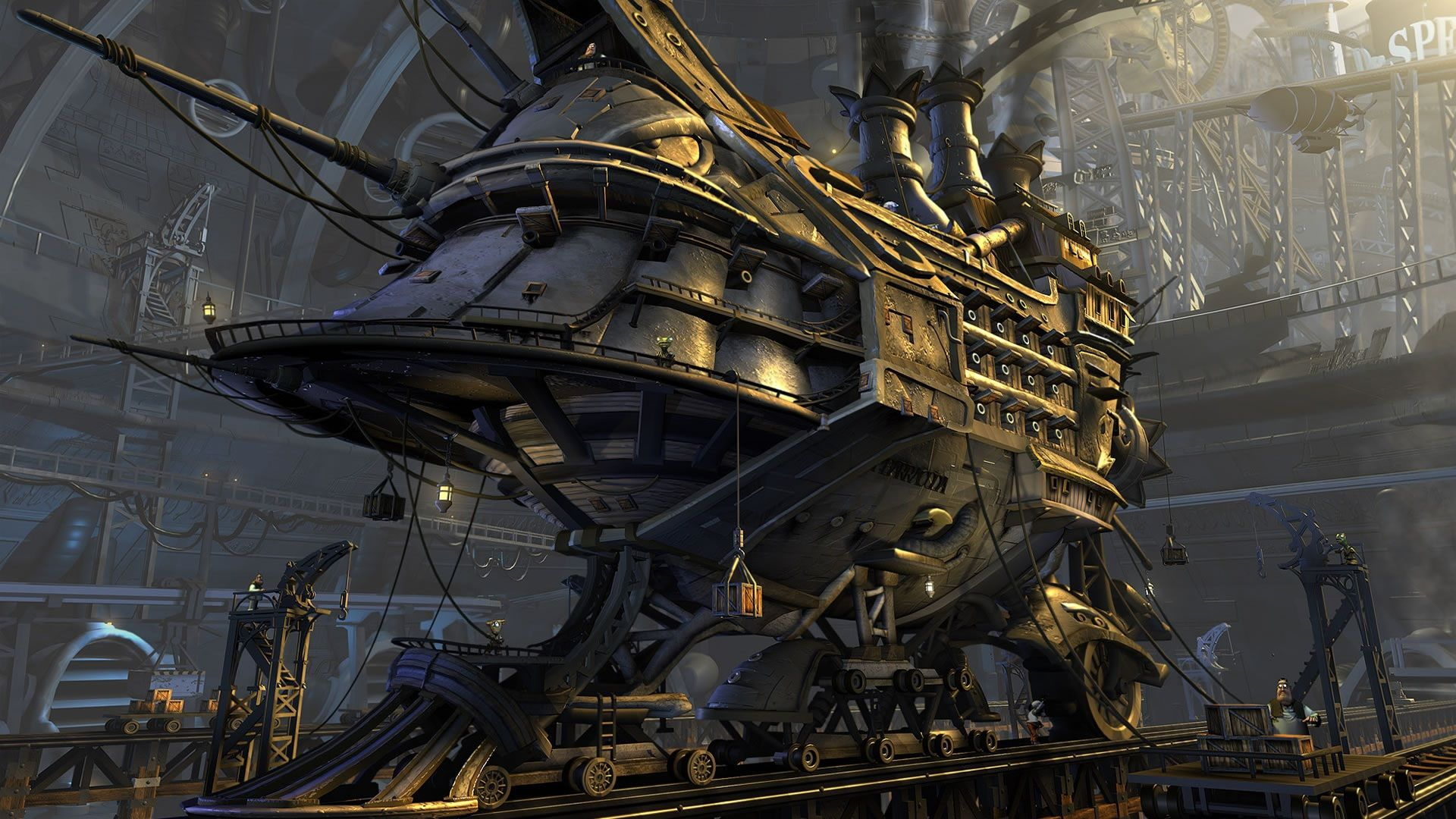 Steampunk wallpaper and themes