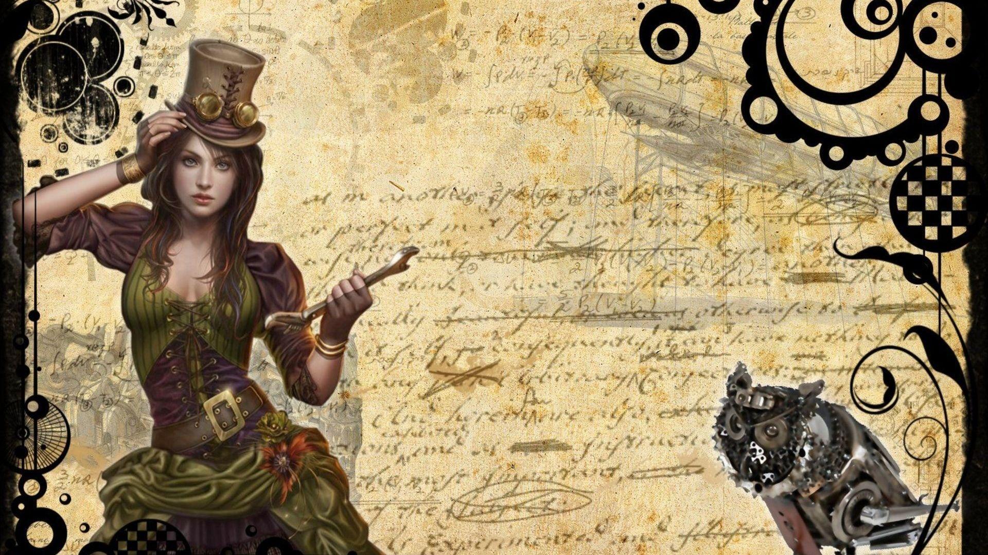 Steampunk Free Download Wallpaper