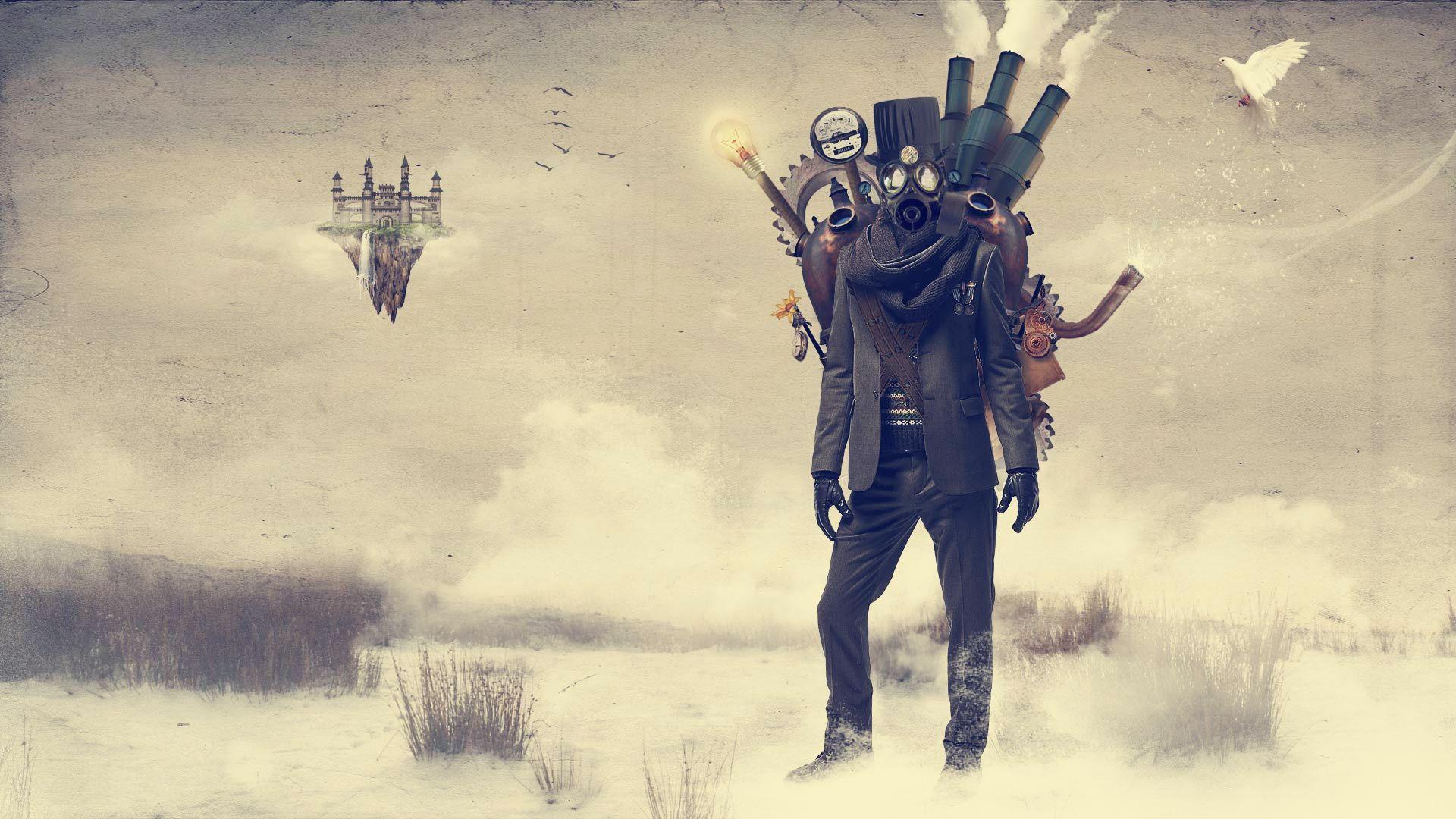 Steampunk Wallpaper Theme