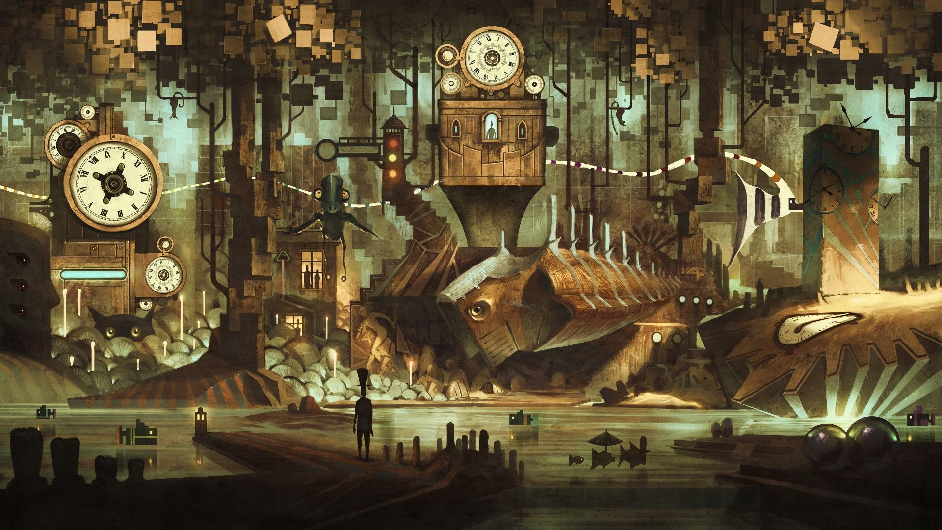Steampunk download free wallpapers for pc in hd