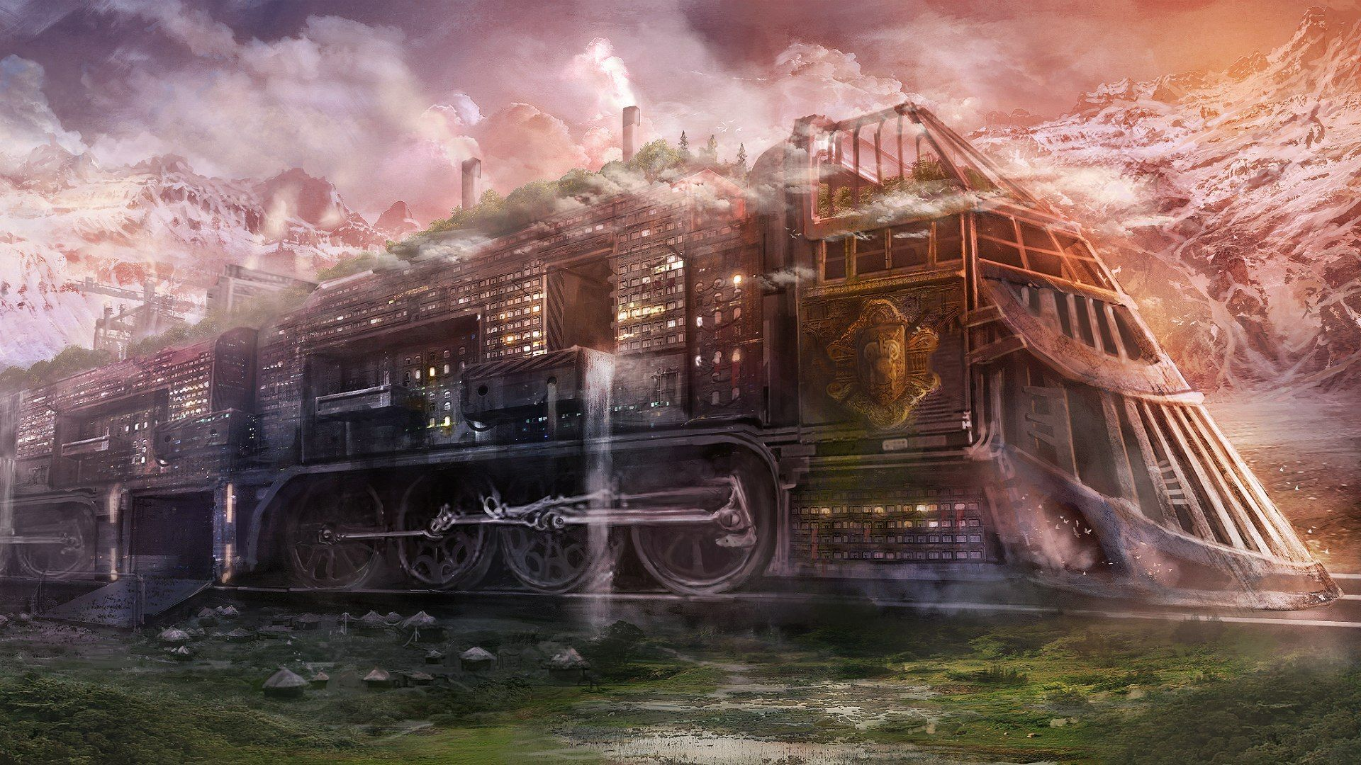 Steampunk Background Wallpaper HD