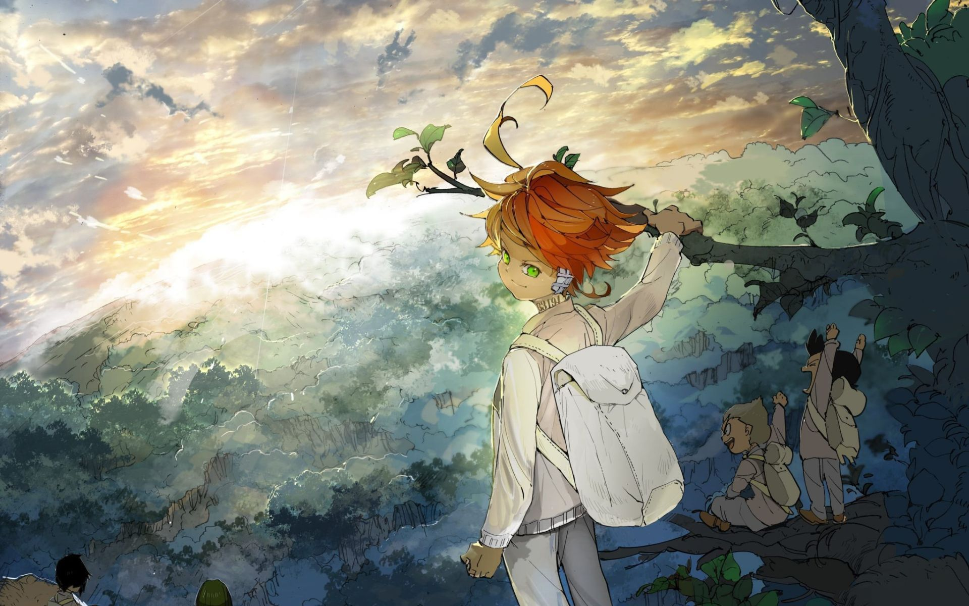 22 The Promised Neverland Wallpapers Wallpaperboat