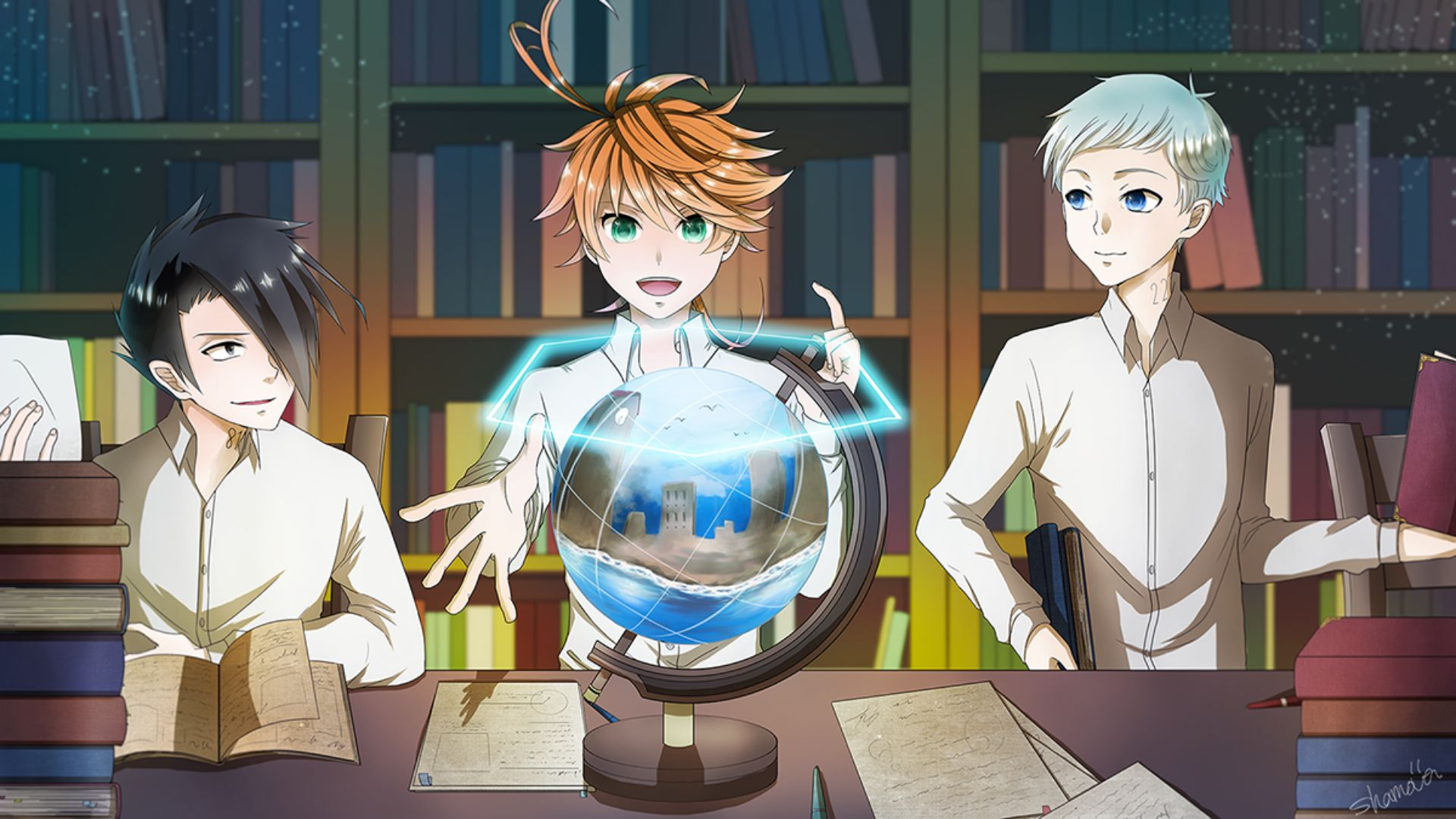 The Promised Neverland free download wallpaper