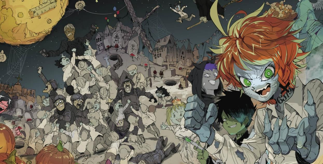 The Promised Neverland Wallpaper Image