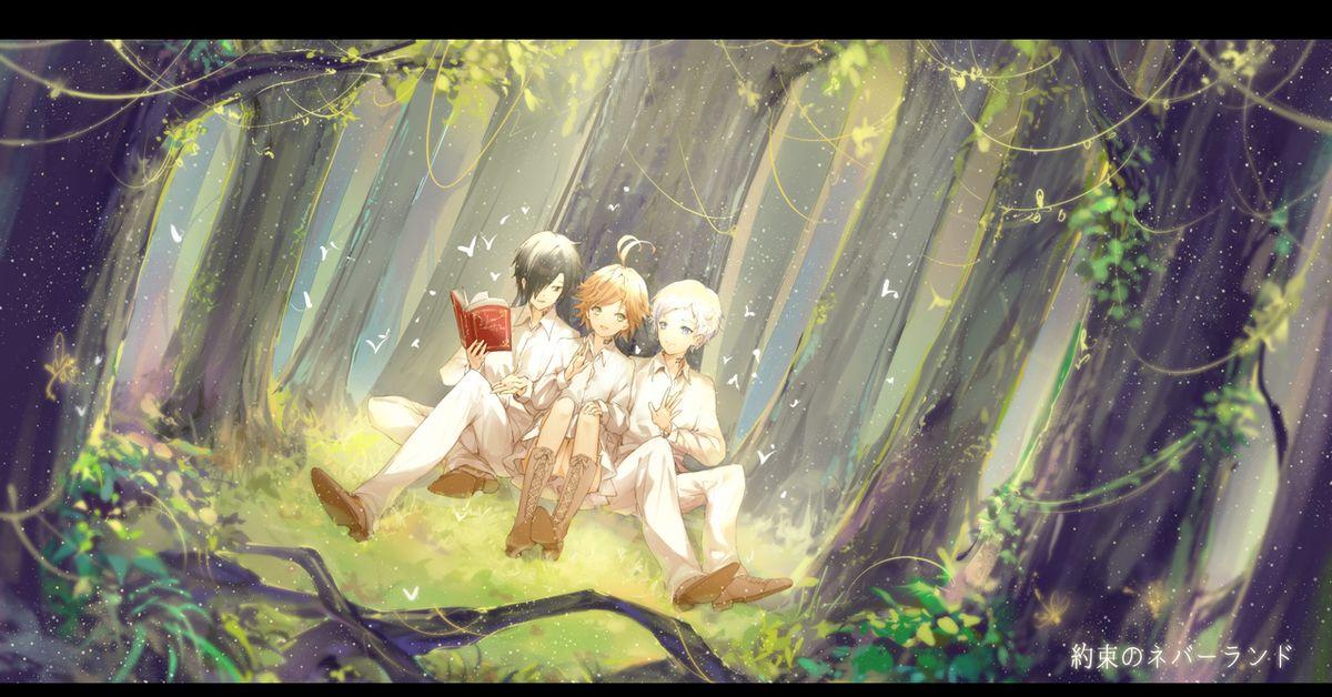 The Promised Neverland full hd 1080p wallpaper