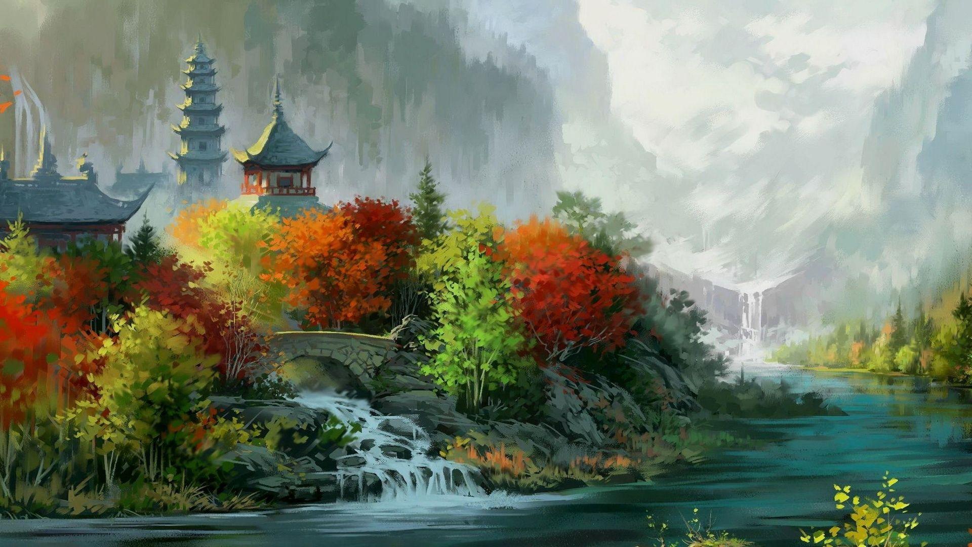 Tibet full screen hd wallpaper