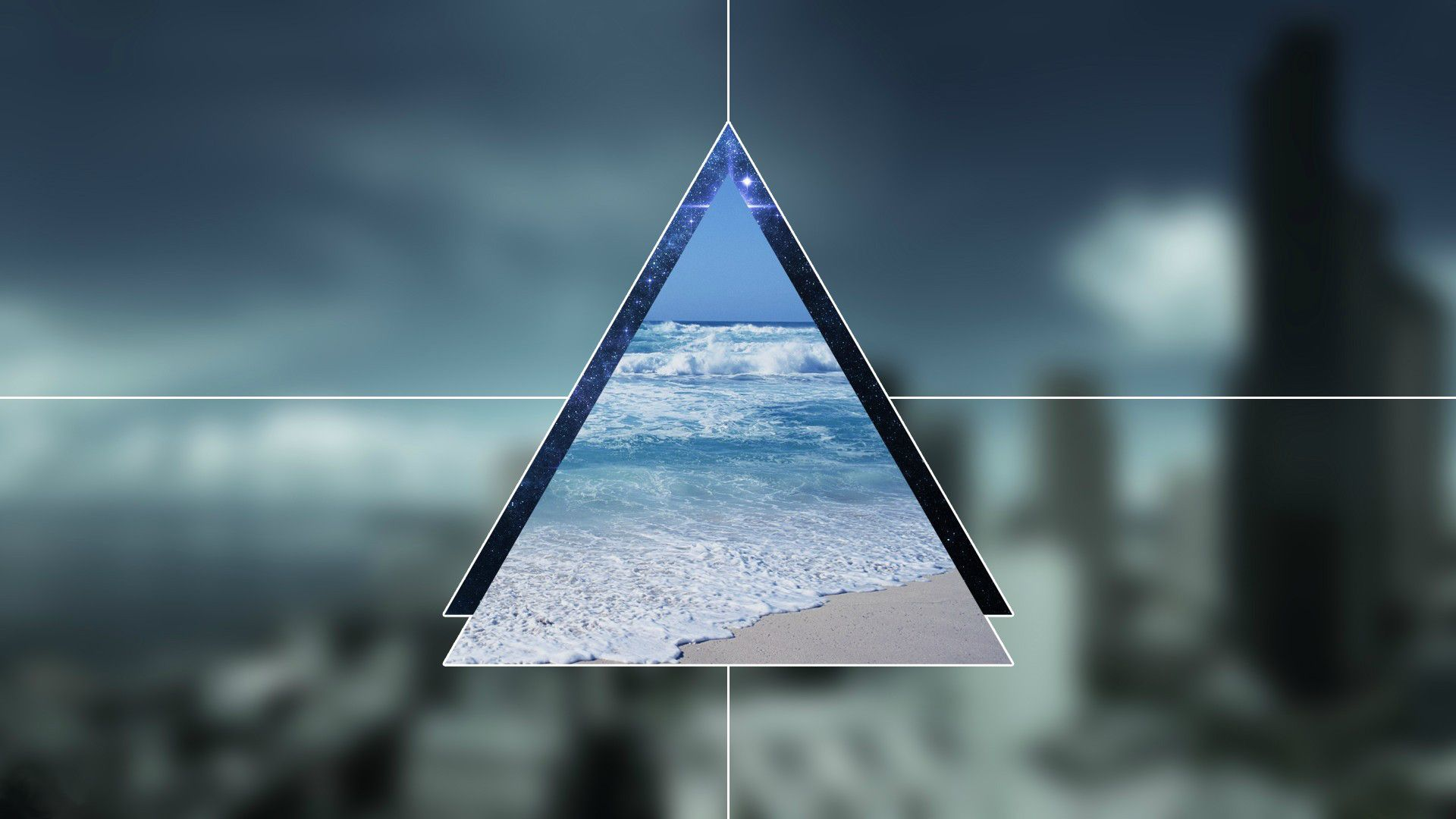 Triangle a wallpaper