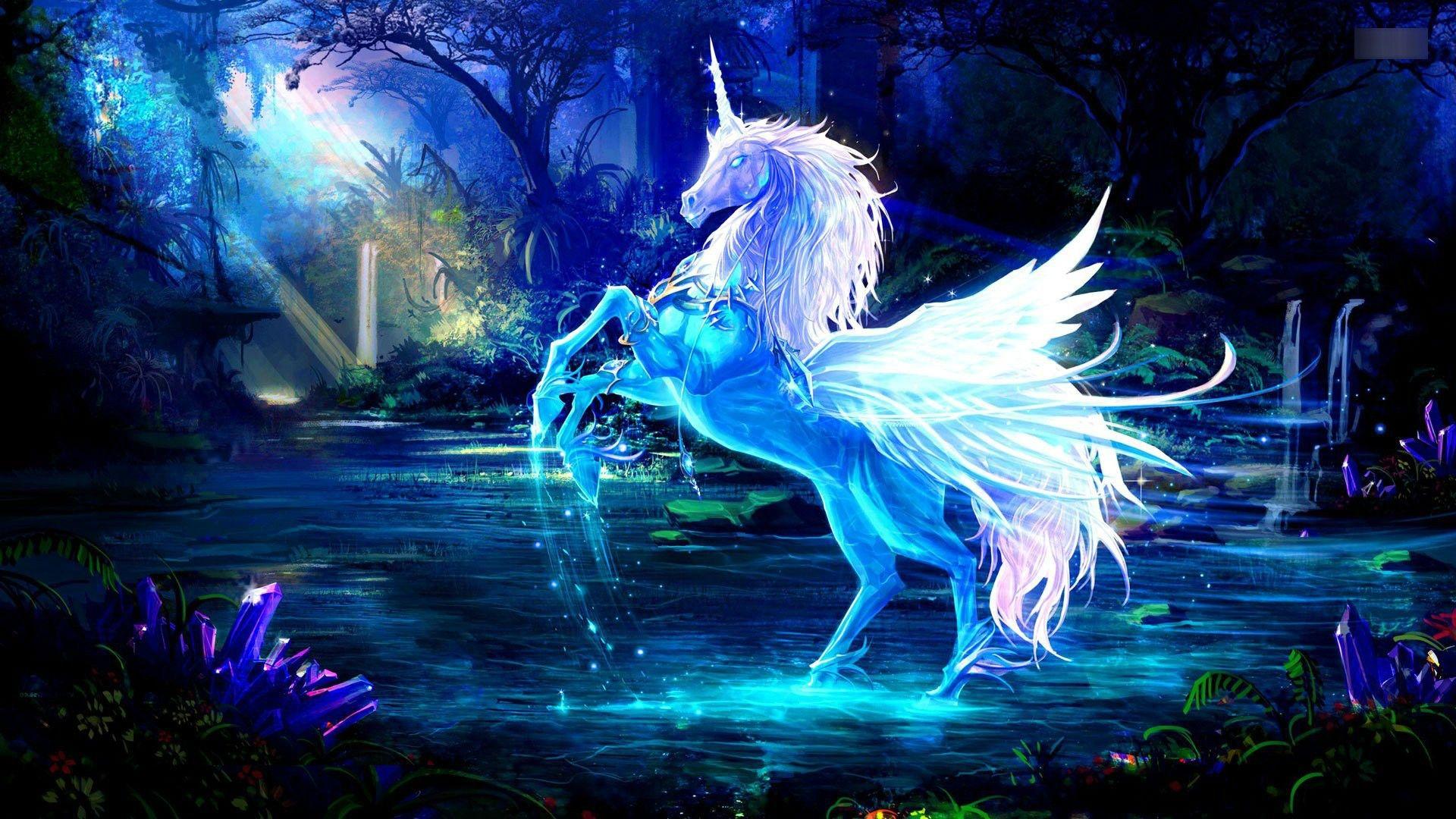 Unicorn free hd wallpaper