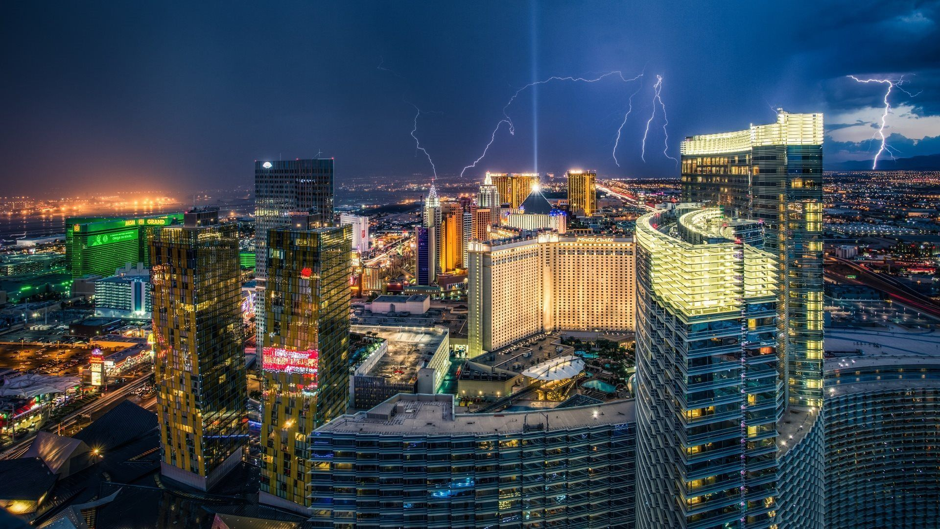 Vegas screen wallpaper