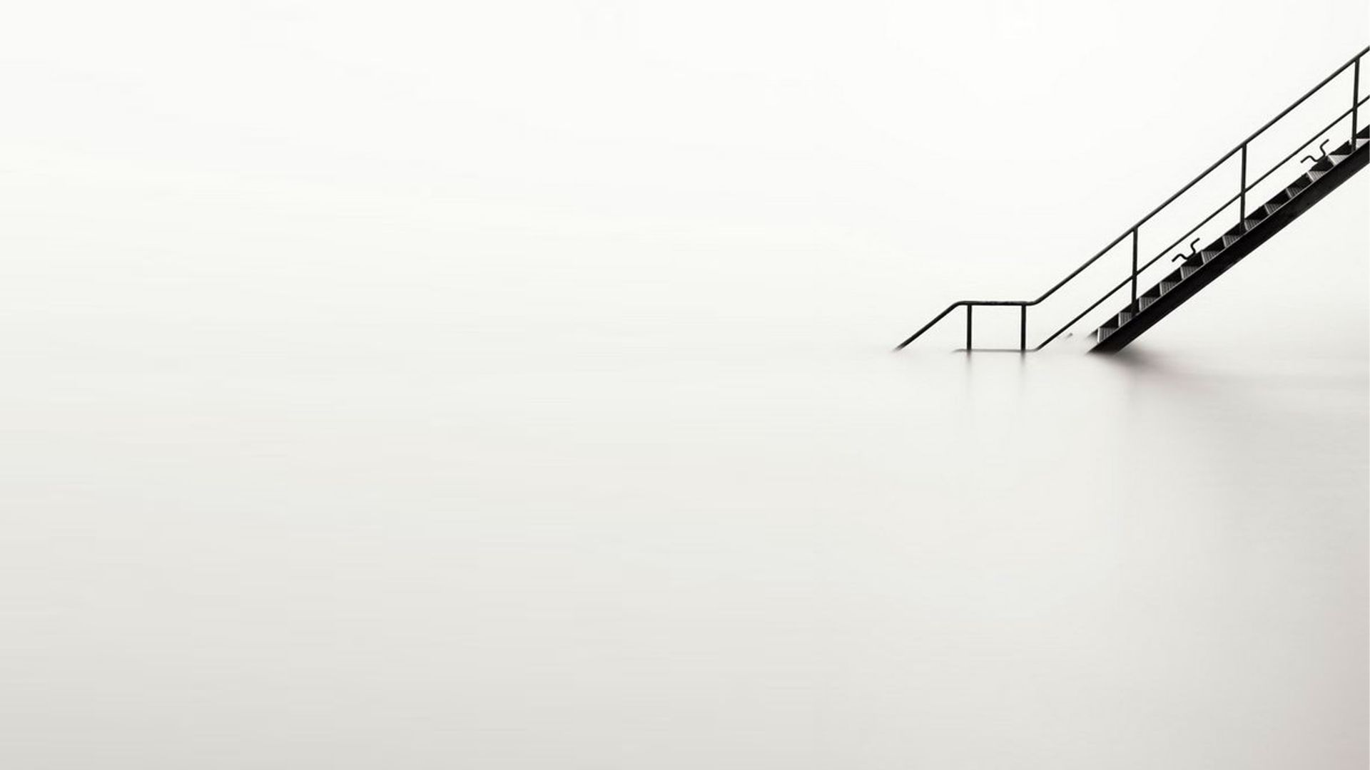 White Minimalism Nice Wallpaper